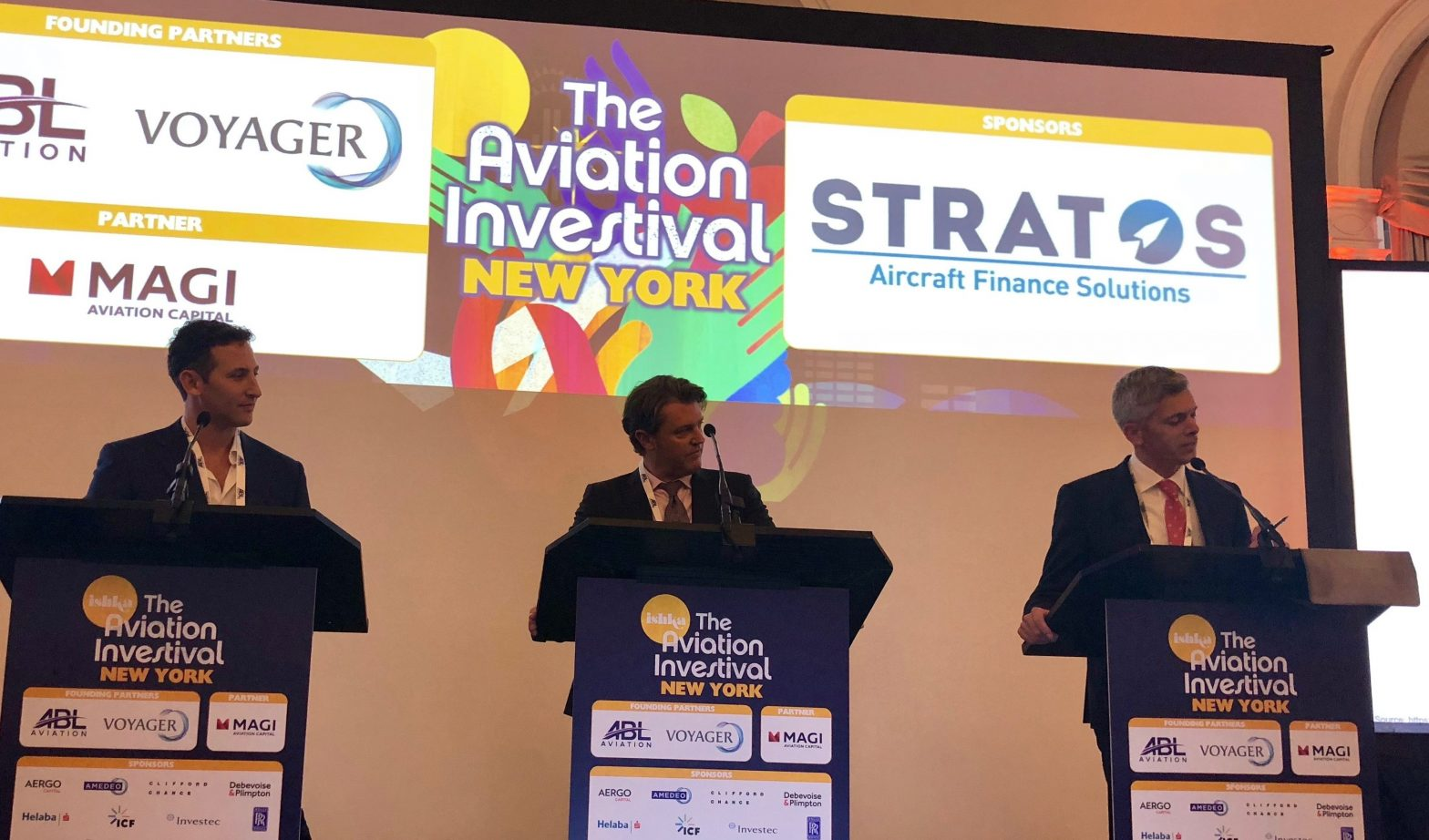 Stratos Debated @ Ishka NYC: Defended the ABS market - Stratos