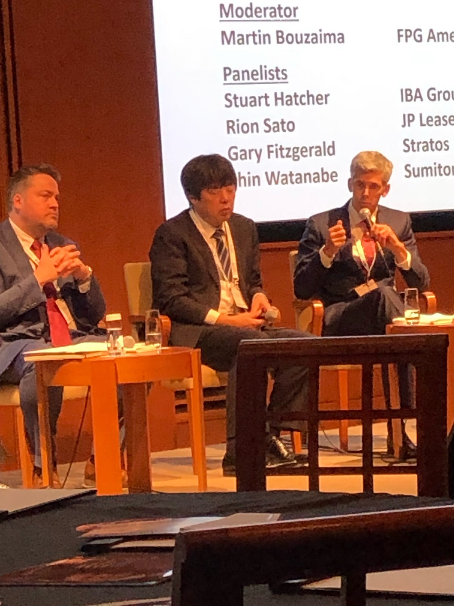 Stratos speaking at Japan Airfinance Conference - Stratos