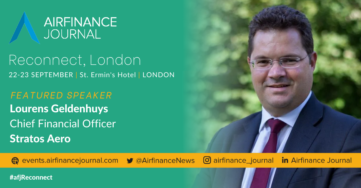 Stratos is a featured speaker on a panel at the AirFinance Journal Conference in London - Stratos