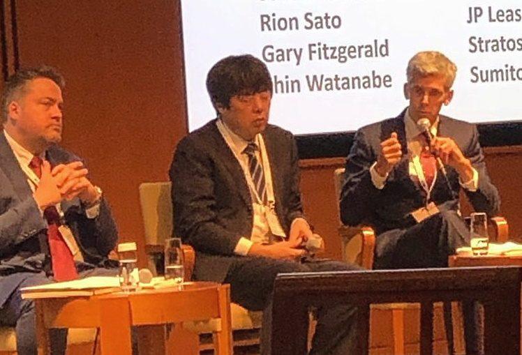 Stratos speaking at Japan Airfinance Conference - Stratos